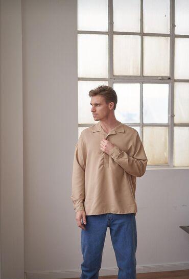 Мужская одежда - Кыргызстан: Мужская рубашка Качество LUXE Производство Турция