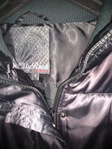 Kaput-crna-boja - Srbija: Ženska jakna 36 nenošena,crna boja sa odsjajem