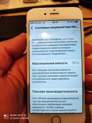 iphone 6 dubay qiymeti - Azərbaycan: İşlənmiş iPhone 6 16 GB Qızılı
