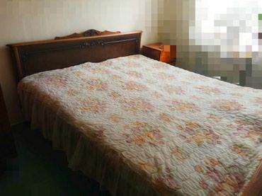 Кровать двуспальная с матрасом размер 190х170 в Бишкек