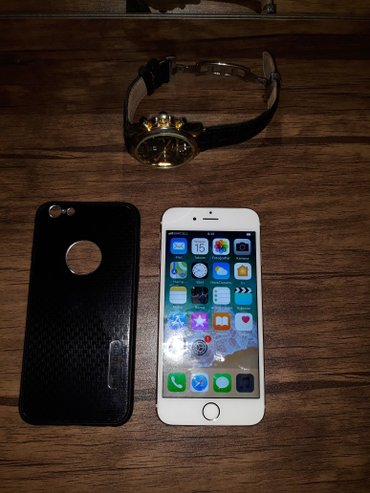 iphone 6s 64 yaddaw gold qizili rengdedi ideyal vezyetdedi yalniz real in Quba