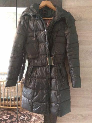 Продаю зимняя куртка до колен, в Бишкек