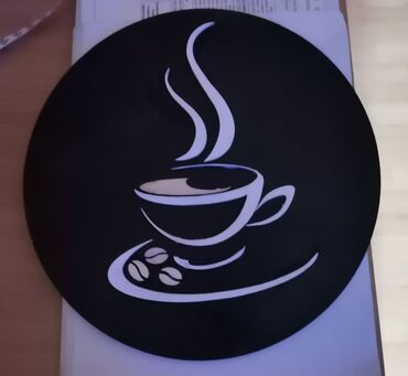 carape sa prstima u Srbija: Dekorativna ploca sa motivom kafe Materijal sper ploca 30x30