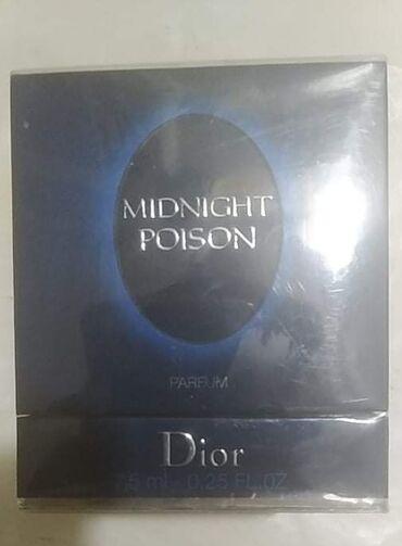 - Azərbaycan: Original istifade olunmamish gutuda Dior midnight poison 7,5 ml