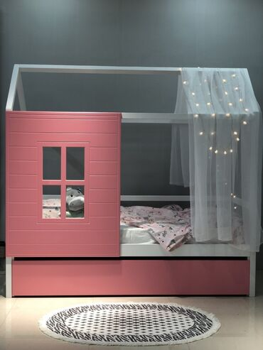 Кровати - Кыргызстан: Домик-кроватка от TobbyFox! Мы сделали для ваших деток экологический