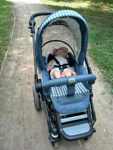 прогулочные коляски для двойни и тройни в Азербайджан: Немецкая коляска 2в1 teutonia be you. Цвет серый. В интернете много о