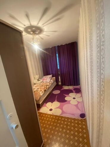 Продажа квартир - Бишкек: 104 серия, 2 комнаты, 44 кв. м Неугловая квартира