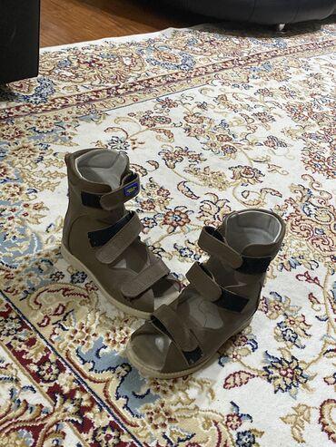 Продаются детские кожаные ортопедические босоножки/туфли  Состояние от