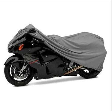 Hər ölçüdə motosiklet çexolları.  Ölçülər: M - Uzunluq 205 sm, En 88 s
