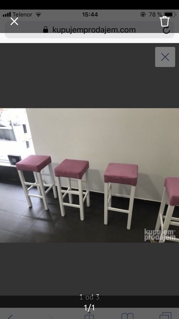 Chairs For Sale In Srbija On Lalafors Buy And Sell