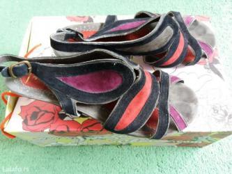 Irregular choice❤kozne sandale.. Nosene jednom.. Vel. 40 - Cacak