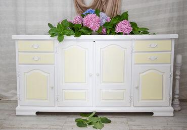 Komoda - Srbija: Redizajnirana unikatna dekorativna komoda.Visina 80,širina 160 i