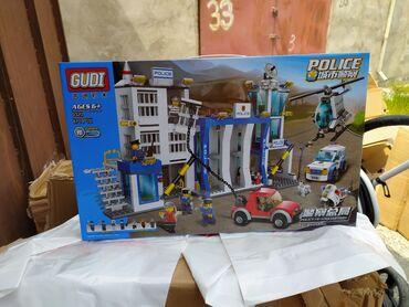 konstruktor drakon - Azərbaycan: Lego konstruktor polis bölməsi böyük. Buna oxşar balaca modeldə