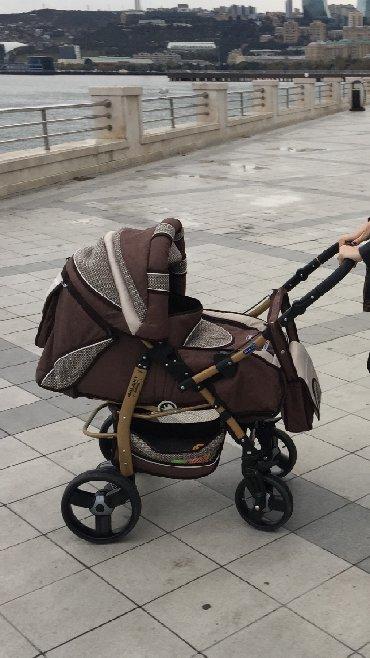 прогулочные коляски для двойни и тройни в Азербайджан: Продаётся коляска !фирма Польша Adamex. в использование была 3месяца !