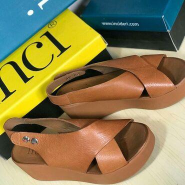 Другая женская обувь в Кыргызстан: Женские Турецкие босоножки.100%кожа