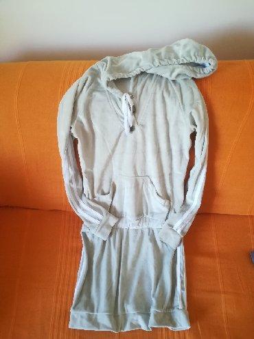 Duks-haljina - Srbija: Veoma neobična haljina-duks vel 12, kvalitetna,sa kapuljačom, pliš