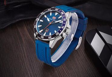 Nov ručni sat sa kutijom. Vodootporan mogu da se peru ruke