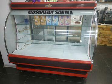 Электроника - Кыргызстан: | Б/у Холодильник-витрина | Коричневый холодильник