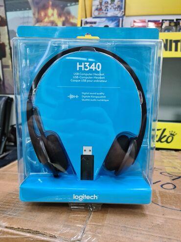2694 объявлений: Наушники для call центровLogitech H340 USBНакладные и простые в