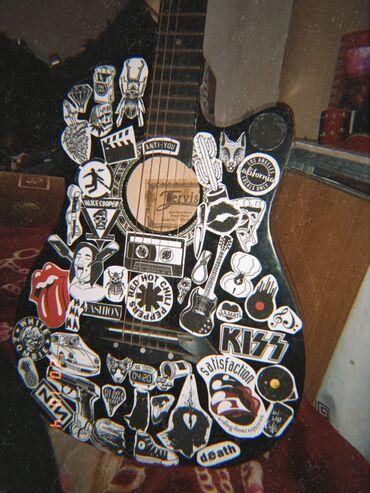 Спорт и хобби - Тюп: Продам гитару в хорошем состоянии. Торг уместен