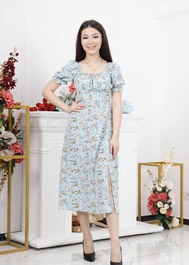 Платья - Кыргызстан: Летние платья  Супер ткань,отличное качество  В трёх расцветках  Разм