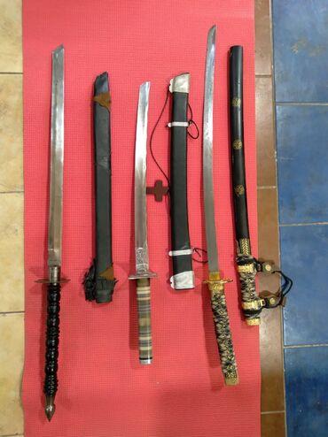 Коллекционные ножи - Бишкек: Коллекция сувенирных мечей ножей кортиков ватцап