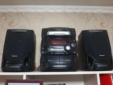 музыкальный центр в Кыргызстан: Музыкальный центр панасоник все работает 5 CD дисков только оригинал