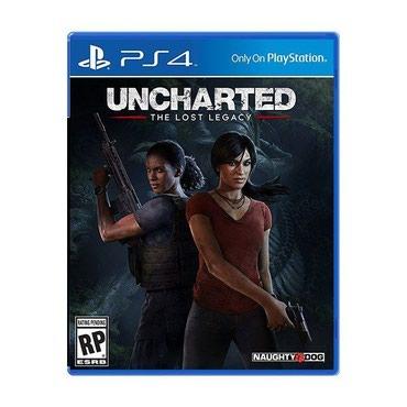 Bakı şəhərində Ps4 üçün Uncharted the lost legacy oyun diski satılır Yenidir