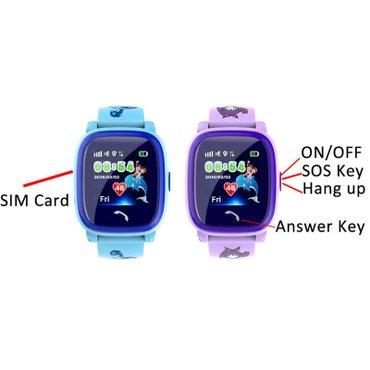 Bakı şəhərində Q100 smart uşaq saatı. Uşaqlarınızı mobil telefondan- şəkil 5