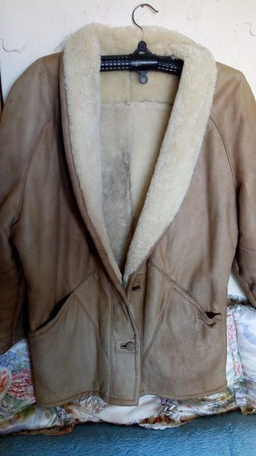 Flo-clo-jakna-placena-e - Srbija: Zenska meklaud kozna jakna,obucena par puta veci broj,kao nova. obim