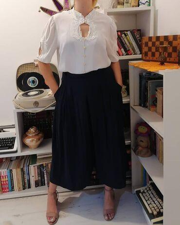 Poliester - Srbija: Široke pantalone/suknja izuzetno prijatne za nošenje.Materijal: 70%