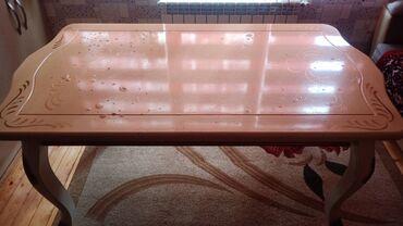 Ev Masası taxta masa satilir ağaç ev masası Qara Qarayev m/s