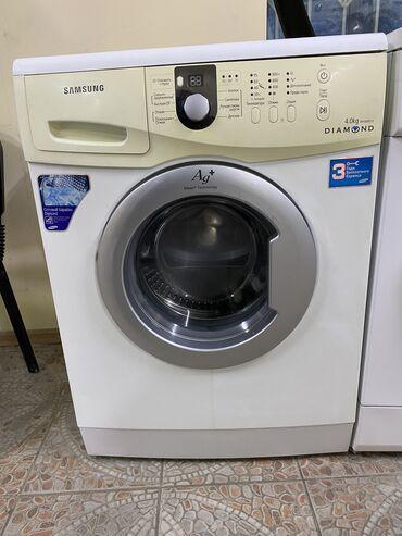 Фронтальная Автоматическая Стиральная Машина Samsung 4 кг