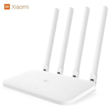 модем-роутер-цена в Кыргызстан: Роутер Xiaomi Mi Wi-Fi Router 4C (EU, белый) (R4CM): Главные