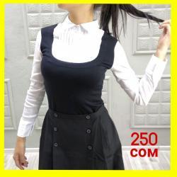 Школьные блузки - Кыргызстан: Блузки обманкиЦена 250 сомРостовка 120-160В наличии во всех филиалах
