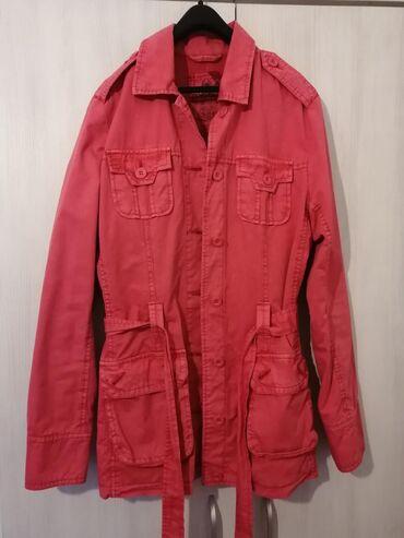 """Nov """"Time Out"""" mantil/jakna. Velicina 36,moze i ko nosi 38. Bez ikakvi"""