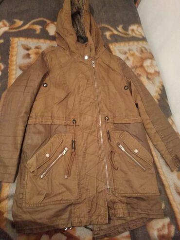 Продаю зимнюю женскую куртку фирмы Бершка размер 46-48 цена 1200сом