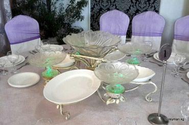 Кухонные принадлежности в Балыкчы: Изготавливаем кованые подставки под тарелки для кафе, ресторанов и той