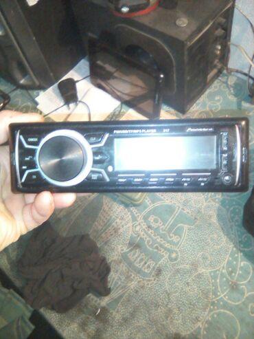 Магнитола блютуз флешка радио новый только 2 недели пользовались