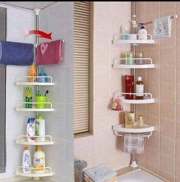 Ugaona polica za kupatilo Cena 3500 dinara