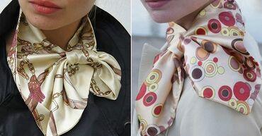 Французские косынки и шарф маска