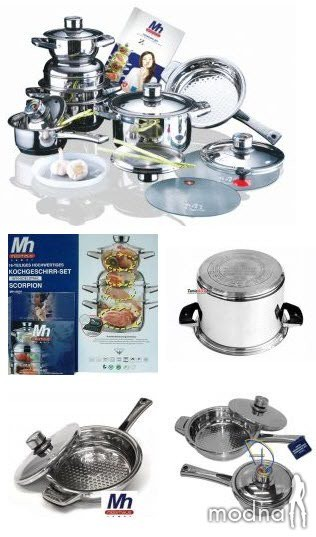 Набор посуды премиум-класса Millerhaus 9011 в Bakı