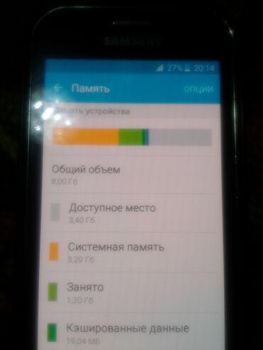instax mini 8 в Кыргызстан: Б/у Samsung Galaxy J1 Mini 8 ГБ Черный