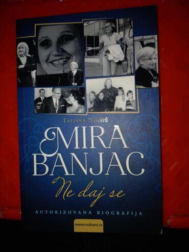 Knjige, časopisi, CD i DVD | Mladenovac: Ne daj se Mira BanjacNOVA knjiganekoriscenaIzdavac:VulkanBroj