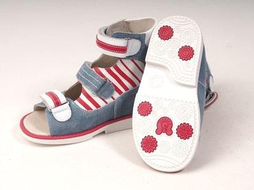 детская анатомическая обувь в Кыргызстан: Сандалии Ortuzzi – детская ортопедическая лечебная обувь, специально