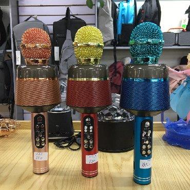 микрофон-за-телефон-цена в Кыргызстан: Микрофон блютуз Q008 Цена:800сом