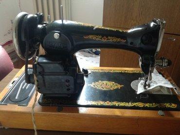 Mašina za šivenje,ruska stara oko 50 godina ima i prevod na srpskom - Belgrade