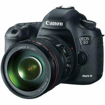 Продаю комплект Canon mark 3 + Объектив canon в Бишкек