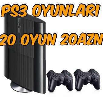 Bakı şəhərində Her Növ PS3 Modellerine Endirimli Qiymete full Oyunların Yazılması...