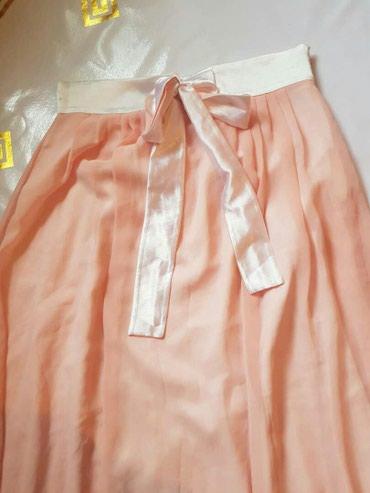 платье с фатиновой юбкой в пол в Кыргызстан: Юбка в пол, сочного персикового цвета. Турция. 300 сом. Абсолютно нова
